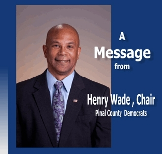 Pinal Democratic Party Chair Henry Wade