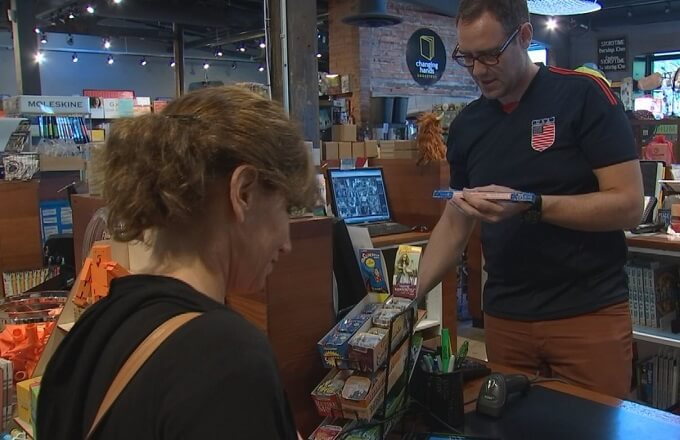 Local retailers want level playing field