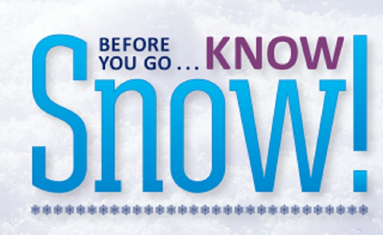 How do you prepare for driving in winter weather? Know Snow