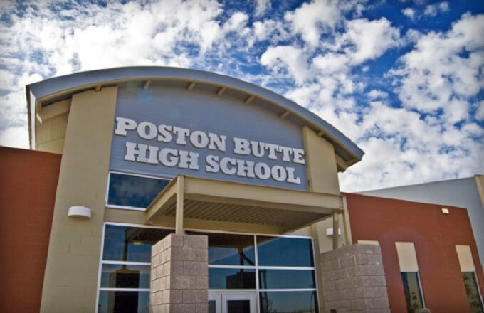Poston Butte High School Fire