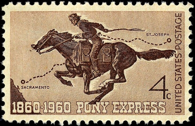 Pony Express Riders in Florence Nov 4th